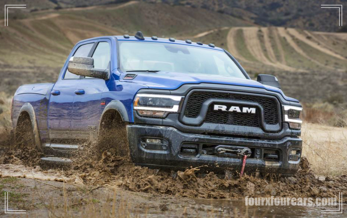2021 ram 2500 power wagon has been upgraded off road hardware